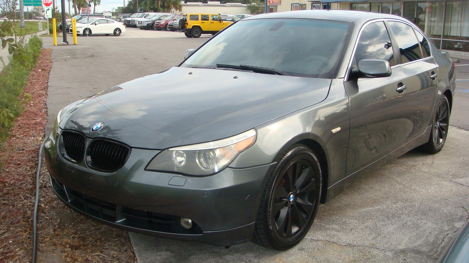 BMW I GRAY Marios Auto Sales Used Car Dealer - Bmw 540i 2005